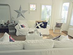 Scandinavian/New England style livingroom