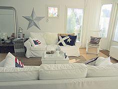 Decor ideas on pinterest new england style sofa pillows for New england style living room ideas
