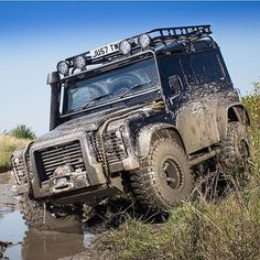 Just add mud. @tweakedautomotive putting their weapon its paces. #mylandy #Landrover #Defender 90""