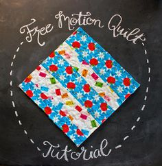 Free-Motion Quilting with Made By Marzipan