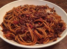 My Favorite Sunday Sauce—-Bolognese