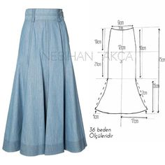 Amazing Sewing Patterns Clone Your Clothes Ideas. Enchanting Sewing Patterns Clone Your Clothes Ideas. Skirt Patterns Sewing, Clothing Patterns, Sewing Clothes, Diy Clothes, Pants Pattern Free, Fashion Sewing, Dressmaking, Pattern Fashion, Skirts