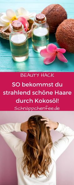 Coconut oil for hair: simple beauty tips for stunning hair – Beauty Hacks Beauty Care, Beauty Hacks, Hair Beauty, Oahu, Natural Make Up, Hair Oil, Easy Hairstyles, Feel Good, Coconut Oil