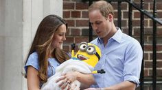 Royal minion! I love how this has been made! Congrats to the happy couple ;)