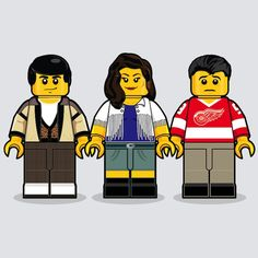 """""""80's Lego"""" – Iconic Movies Remembered In Lego Minifigures by Dan Shearn (13 Pictures)"""