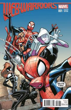 Meet the Heroes of the Spider-Verse in WEB WARRIORS #1!, Protecting the Spider-Verse by any means necessary! Today, Marvel is pleased to present your new look at WEB WARRIORS #1 – the new ongoing series fr..., #DamionScott #DavidBaldeon #Electro #HumbertoRamos #JulianTotinoTedesco #Marvel #MarvelComics #MikeCosta #News #PressRelease #SkottieYoung #Spider-Gwen #Spider-Ham #Spider-Man #Spider-ManNoir #Spider-Man:India #Spider-UK #Spider-verse #TradedMoore #WEBWARRIORS #WebWarriors#1