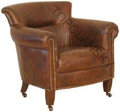 Cambridge Leather Chair www.topolanksy.co.za