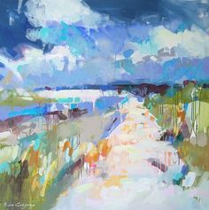 portfolio - paintings by erin fitzhugh gregory #LandscapeArtwork
