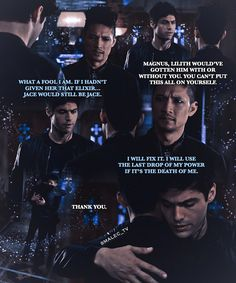 16.8k Followers, 256 Following, 416 Posts - See Instagram photos and videos from [Shadowhunters || Malec edits] (@malec.glitter)