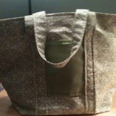 Homemade diaper bag