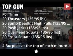 Top Gun Workout
