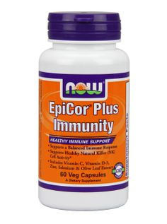 NOW EpiCor® Plus Immunity   Immune Health   NOW EpiCor® Plus Immunity and the probiotic yeast Saccharomyces cerevisiae helps support healthy immune function and allergy response.