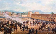 Procalamação da República - óleo sobre tela - Benedito Calixto- 1893