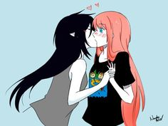 Adventure Time | Marceline Abadeer & Bonnibel Bubblegum Bubbline