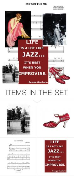 """""""Life is a lot like Jazz..."""" by mariannemerceria ❤ liked on Polyvore featuring art and allthatjazz"""