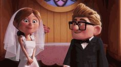 love disney kiss up pixar disney pixar marriage disney gif disneypixar pixar gif Married Life, Got Married, Getting Married, Married Couples, Newly Married, Carl Y Ellie, Sex And Love, My Love, Marry You