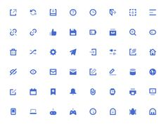 Dribbble - Mini Icons by Sebastiano Guerriero