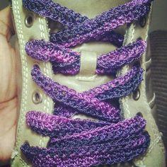 Crochet Shoestrings