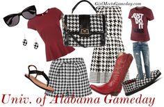 University of Alabama Gameday Roll Tide dress up