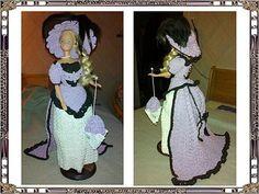 De Nicole.A Barbie, Crochet, 21st, Creations, Victorian, Costumes, Dragon, Pinocchio, Dresses