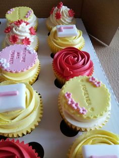 Hand baked cakes and cupcakes made with premium ingredients for corporate events and special occasions. Fluffy Cupcakes, Pretty Cupcakes, Yummy Cupcakes, Hen Party Cakes, Baby Boy Birthday Cake, Birthday Desserts, Sweet Ideas, Cake Decorations, Piece Of Cakes