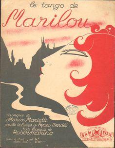 Marilou  cover art Jean Tranchant 1933