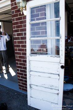 DIY Privacy Film Tutorial for Door with Windows