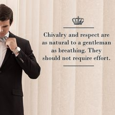 The Number 1 Rule of a Gentleman: