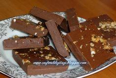 Ciocolata de casa cu nuca prajita