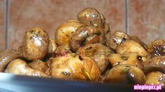 Smażone pieczarki Ratatouille, Potatoes, Vegetables, Recipes, Food, Potato, Recipies, Essen, Vegetable Recipes