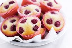 Easy to make and wonderfully soft, these Raspberry and almond teacakes are a perfect tea-time treat.