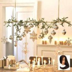 Arrangement of handmade, set with decorative beads - Weihnachtsdeko - Decor