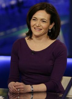 """The Most Powerful Women In Tech 2014, Sheryl Kara Sandberg (1969 - ) American business executive and Chief Operating Office and on its Board of Directors at Google - In 2010 she was 16 on the 50 """"Most Powerful Women in Business by Fortune Magazine - Author of """"Lean In: Women, Work and the Will to Lead"""" 2012 - A woman to watch in upward mobility."""