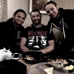 Spent my day hanging out and catching up with some great friends of mine. These Young Bucks are easily one of the best tag teams on the planet. #WWERP #NXTRP #OpenRP
