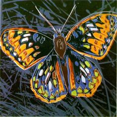 By Andy Warhol (1928-1987), ca.1983, #Butterfly #PopArt