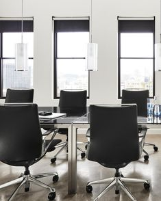 Achieve the perfect balance of style and function with our comfortable conference room chairs and statement-making meeting tables. Conference Room Chairs, Selling Design, Meeting Table, Design Ideas, Design Inspiration, Retail Space, Modern Spaces, Commercial Interiors, Tables