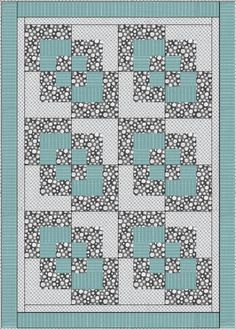 Make Double Four Patch Blocks that Are Just a Bit Different from the Norm: Finish Sewing the Double Four-Patch Quilt Blocks Big Block Quilts, Lap Quilts, Quilt Baby, Scrappy Quilts, Quilt Blocks, Quilting Designs, Quilting Projects, Quilting Ideas, History Of Quilting
