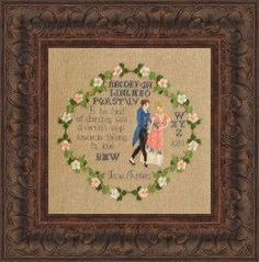 To Be Fond of Dancing/A Jane Austen Pride & by WestWindCrossStitch, $6.99