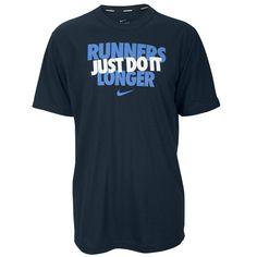 Nike Dri-FIT Cotton Graphic Running T-Shirt - Men's - Running - Clothing - Grey/Blue/Yellow