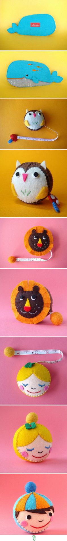 AWESOME idea to cover a tape measures!!