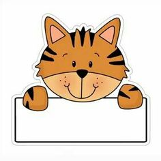 Cute Animals Labels For Preschool Student Cabinets - Closet Labels, Diy And Crafts, Crafts For Kids, School Frame, School Labels, Chroma Key, School Posters, Borders And Frames, Name Tags