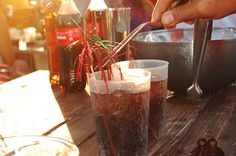 Cocktails #coke #summer #party