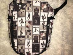 fab1292cbfb2b4 Michael Jordan Jumpman Backpack 9A1538-GW6 Bookbag Black Grey  fashion   clothing  shoes