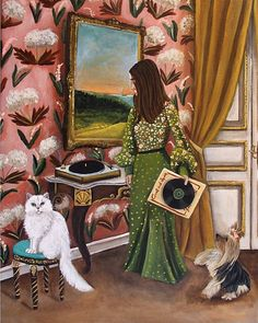 'Music Therapy' by Catherine Nolin Art Studio, USA. COPYRIGHTED at Catherine Nolin Art Studio