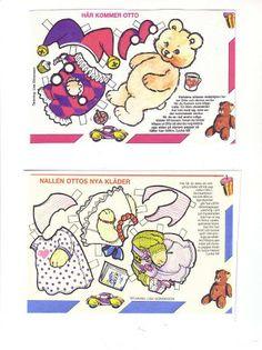 Bonecas de Papel: Bebês Animais