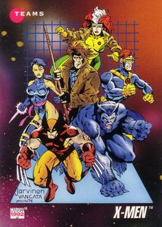X-Men: Blue Strike Team Marvel Universe Series 3 #182