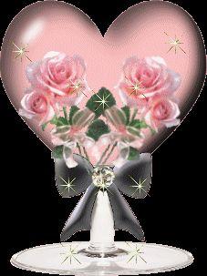 Flores Animadas y Brillantes para San Valentin - Yaves.es Todo lo que tienes que ver de Internet.