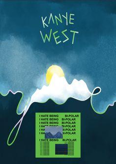 Alternative artwork for YE - Kanye West Kanye West Fan Art Kanye West Poster available on Etsy Kanye West Album Cover, Kanye West Albums, Rap Album Covers, Kanye West Wallpaper, Rap Wallpaper, Rap Albums, Unique Poster, Hip Hop Art, Kid Cudi