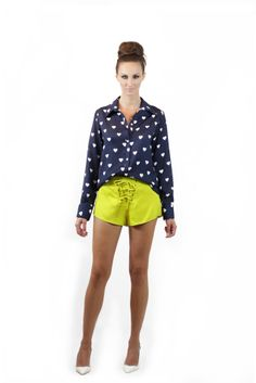 Camisa Love Shorts Laces