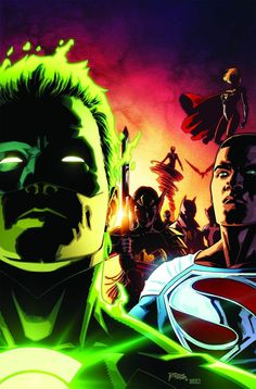 After a cataclysmic battle, several Wonders wake up in a twilight limbo in EARTH 2: SOCIETY #17, available 10/12!